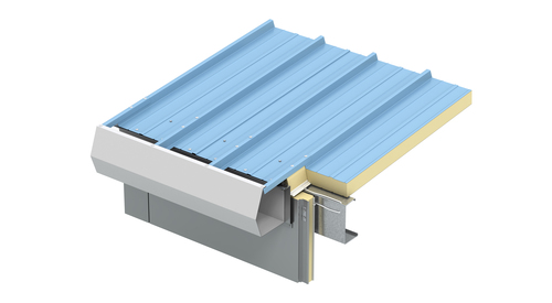 900 HIGH RIB ROOF EAVE GUTTER